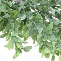 Keinotekoinen kasvi Garland, Boxwood Vine, koristelu Greenery L125cm