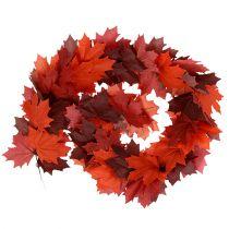 Vaahtera seppele punainen-oranssi 170cm