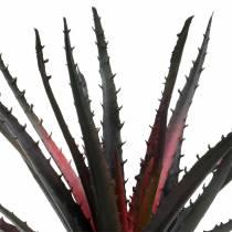 Aloe Vera keinotekoinen purppura 26cm