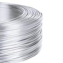 Alumiinilanka 1mm 500g hopea