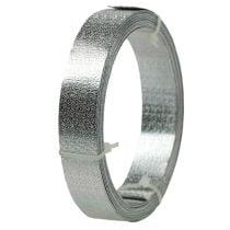 Alumiininauha litteä lanka hopea matta 20mm 5m 5m