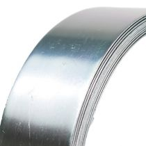 Alumiinilanka lattalanka hopea 30mm 3m