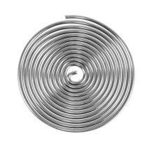 Lankaruuvi metalliruuvi hopea 2mm 120cm 2kpl