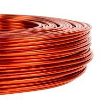 Alumiinilanka Ø2mm 500g 60m oranssi