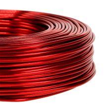 Alumiinilanka Ø2mm 500g 60m punainen