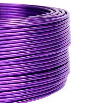 Alumiinilanka violetti Ø2mm 500g (60m)