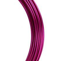 Alumiinilanka 2mm 100g vaaleanpunainen