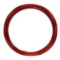Alumiinilanka 2mm 100g punainen