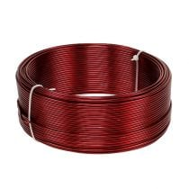 Alumiinilanka punainen Ø2mm 500g (60m)