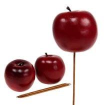 Omena keinotekoinen punainen Ø7,5cm 6kpl