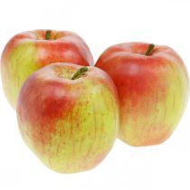 Keinotekoinen omena, koristeellinen hedelmä Ø8cm 4kpl