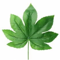 Aralia-lehti varren vihreällä L61.5cm 12kpl