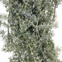 Koristeellinen seppele parsa Keinotekoinen koristeellinen parsa valkoinen, harmaa Ø32cm