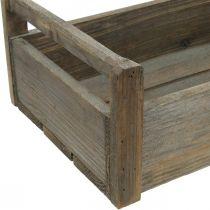 Puinen laatikko Käsityölaatikko Shabby koristeellinen laatikko puu 47×28,5×16,5cm