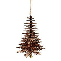 Puu ripustettavaksi kuparia kellolla 40cm