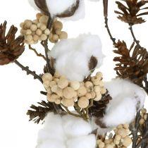 Deco oksat joulun keinotekoinen sekoitus valikoituja nipussa 29cm