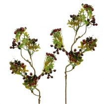 Keinotekoinen marjahaara cotoneaster punainen 50cm 2kpl