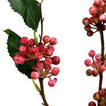 Marjahaara keinotekoinen puna-valkoinen 64cm 6kpl