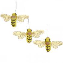 Koriste puristin mehiläinen, kevät koriste, mehiläinen puristin, lahja koriste 3kpl.