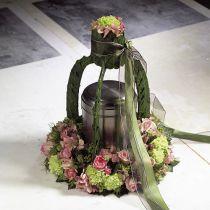 Kukkainen vaahtorengas, seppele, erikokoisia