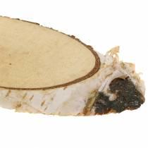 Koivuviipaleet soikeat luonnon 4 × 8cm 1kg koristeluun