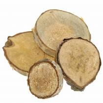 Koivuviipaleet pyöreät luonnolliset 5cm 1kg kuoren koristeluun