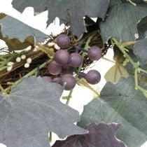 Deco seppele Viiniköynnöksen lehdet ja viinirypäleet Syksyn seppele viiniköynnökset Ø60cm