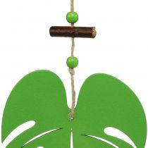 Lehti 14,5 cm vihreään ripustamiseen