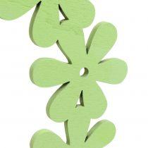Kukkaseppeleitä vihreällä Ø35cm 1s