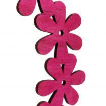 Kukkaseppeleitä vaaleanpunaisella Ø35cm 1kpl