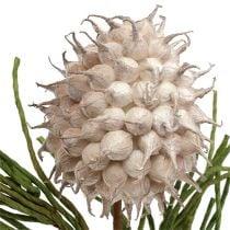 Blossom haara vaahto harmaa / vihreä 65cm