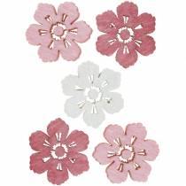 Sirontakoriste kirsikankukkia, kevätkukkia, pöydän koristelu, puukukkia sirontaan 144kpl.