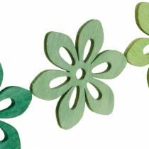 Hajakukat vihreät, kevätkoriste, puukukat hajakukkiin, pöydän koristeluun 72kpl.
