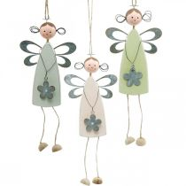 Kukka keiju puu jalat, kevät, pieni keijut kukka, koriste ripustin kukka keiju 3kpl