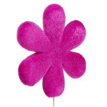 Kukkatulppa kukka värillinen parveileva Ø8,5cm 8kpl