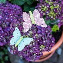 Kukka nastaperhopuu 18cm 12kpl