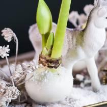 Kukkakastevaha 1kg valkoinen