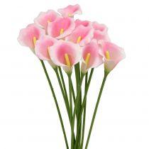 Calla Koristeellinen Kukka Vaaleanpunainen 57cm 12kpl