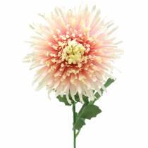 Krysanteemi kukka oksa vaaleanpunainen keinotekoinen 64cm