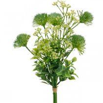 Silkkikukat, Keinotekoinen kukkakimppu, Kukkakoriste ohdakkeet 40cm