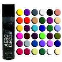 Väri Spray silkki matta eri värejä 400ml