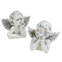 Koristeellinen enkeli H7.5cm 6kpl
