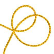 Koristeellinen johto keltaista 4mm 25m