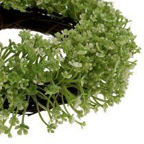 Koristeellinen seppele vihreä Ø25cm
