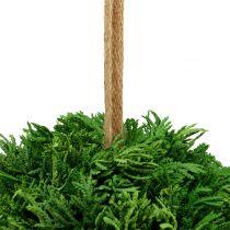 Keinotekoinen kasvipallo vihreän Ø20cm ripustamiseen