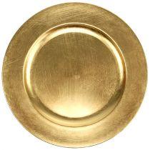Koristelevy kulta Ø28cm