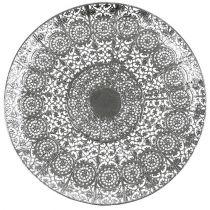 Koristeellinen lautanen hopea motiivilla Ø35cm