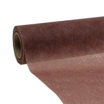 Koristeellinen fleece 60cm x 20m ruskea