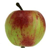 Koristeellinen omena punainen, vihreä Ø6cm 6kpl
