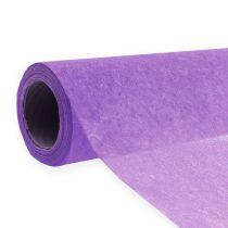Koristeellinen fleece 60cm x 20m violetti